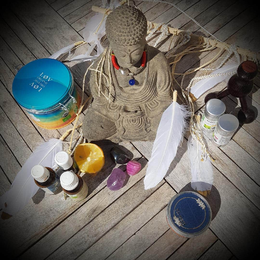 Bouddha en naturopathie Laila Boyer