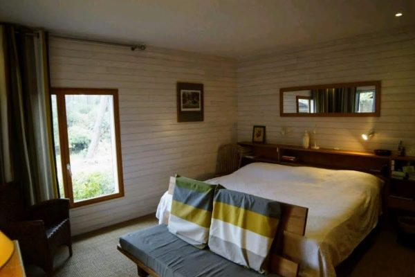 Chambre à coucher, Jeûne Buchinger, maison landaise